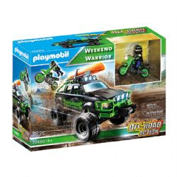 PLAYMOBIL -  WEEKEND WARRIOR (58 PIECES) 70460