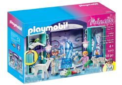PLAYMOBIL -  WINTER PRINCESS PLAY BOX (58 PIECES) 9310