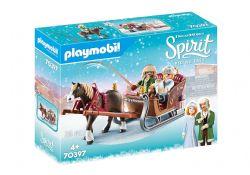 PLAYMOBIL -  WINTER SLEIGH RIDE (28 PIECES) 70397