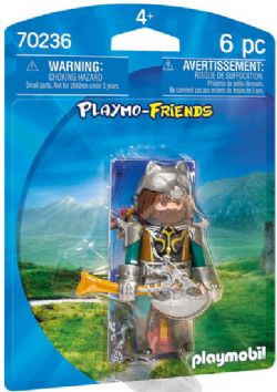 PLAYMOBIL -  WOLF WARRIOR (6 PIECES) 70236