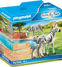 PLAYMOBIL -  ZEBRAS WITH FOAL (3 PIECES) 70356