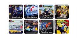 PLAYSTATION -  GAME COASTERS