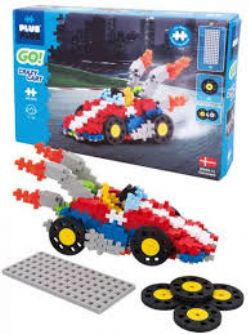 PLUS PLUS GO! -  CRAZY CART (240 PIECES)