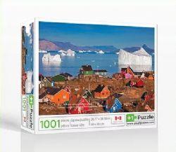 PLUS1PUZZLE -  UUMMANNAQ VILLAGE, GREENLAND (1001 PIECES)