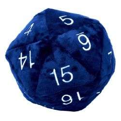 PLUSH D20 - BLUE (10