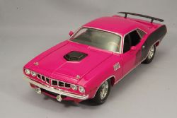 PLYMOUTH -  1971 PLYMOUTH HEMI CUDA - PINK -  GONE IN 60 SECONDS