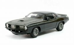 PLYMOUTH -  LETTY'S CUSTOM BARRACUDA 1/18 - BLACK -  FAST AND FURIOUS