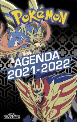 POKÉMON -  AGENDA 2021-2022 (COUVERTURE NOIR)