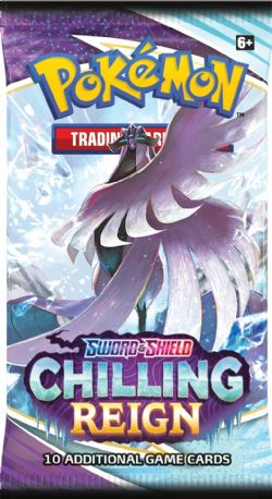 POKÉMON -  BOOSTER PACK (ENGLISH) **LIMIT 1 BOX (36 PACKS) PER CUSTOMER** -  CHILLING REIGN
