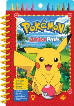 POKÉMON -  COLORING BOOK - ARTIST PAD