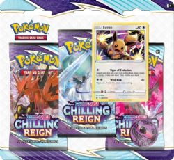 POKÉMON -  EEVEE BLISTER PACK (ENGLISH) **LIMIT 3 PER CUSTOMER** -  CHILLING REIGN