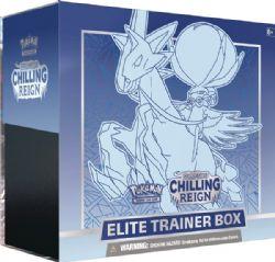 POKÉMON -  ELITE TRAINER BOX - ICE RIDER CALYREX VMAX (ENGLISH) -  CHILLING REIGN