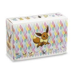 POKÉMON -  PLASTIC DOUBLE DECK BOX - EEVEE PRISMATIC (80)