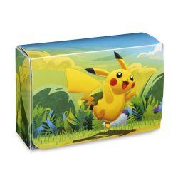 POKÉMON -  PLASTIC DOUBLE DECK BOX - PIKACHU ADVENTURE (80)
