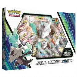 POKEMON -  ALOLAN MAROWAK GX BOX (4P10 + ACCESSORIES)