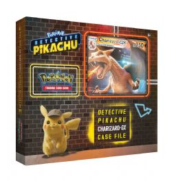 POKEMON -  CHARIZARD GX BOX (7 BOOSTERS + ACCESSORIES) -  DETECTIVE PIKACHU