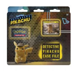 POKEMON -  DETECTIVE PIKACHU CASE FILE (3 BOOSTERS + COIN + ACCESSORIES) -  DETECTIVE PIKACHU