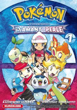 POKEMON -  DIAMANT ET PERLE -  POKEMON ADVENTURES 01