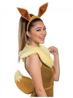 POKEMON -  EEVEE 3-PIECE ACCESSORY KIT (ADULT - ONE SIZE)