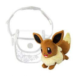 POKEMON -  EEVEE PLUSH WITH SMALL BAG (5