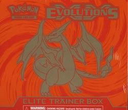 POKEMON -  ELITE TRAINER BOX (ENGLISH) -  EVOLUTIONS