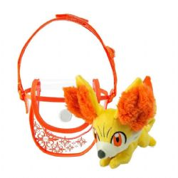 POKEMON -  FENNEKIN PLUSH WITH SMALL BAG (5