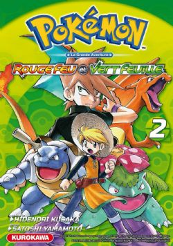 POKEMON -  FIRE RED AND GREEN LEAF -  POKEMON ADVENTURES 02