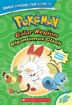 POKEMON -  GIGANTAMAX CLASH / BATTLE FOR THE Z RING -  SUPER SPECIAL FLIP BOOK 01