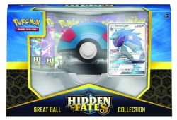 POKEMON -  GREAT BALL COLLECTION (10P + ACCESSORIES) -  HIDDEN FATES