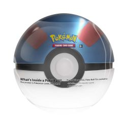POKEMON -  GREAT BALL TIN WAVE 02 (3 PACKS + COIN)
