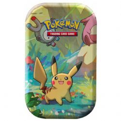 POKEMON -  KANTO FRIENDS TIN PIKACHU (2 PACKS + COIN)