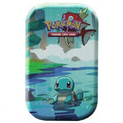 POKEMON -  KANTO FRIENDS TIN SQUIRTLE (2 PACKS + COIN)