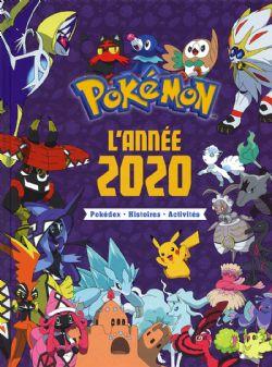 POKEMON -  L'ANNÉE 2020. POKÉDEX, HISTOIRES, ACTIVITÉS