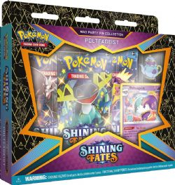 POKEMON -  MAD PARTY PIN COLLECTION - POLTEAGEIST (ENGLISH) **LIMIT 1 PER CUSTOMER** -  SHINING FATES