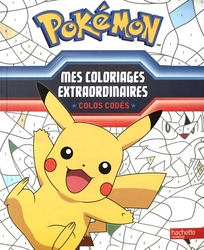 POKEMON -  MES COLORIAGES EXTRAORDINAIRES - COLOS CODÉS