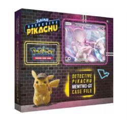 POKEMON -  MEWTWO GX BOX (6 BOOSTERS + ACCESSORIES) -  DETECTIVE PIKACHU
