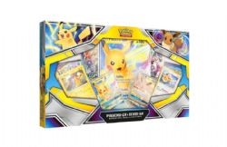 POKEMON -  PIKACHU-GX & EEVEE-GX SPECIAL COLLECTION (8P10 + 1 PLAYMAT + 1 COIN)