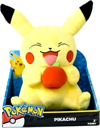 POKEMON -  PIKACHU PLUSH WITH APPLE (10 INCH)
