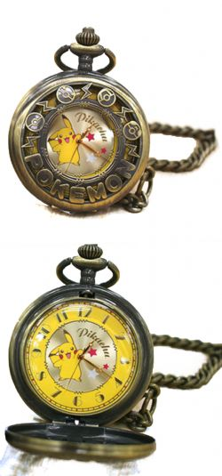 POKEMON -  PIKACHU POCKET WATCH