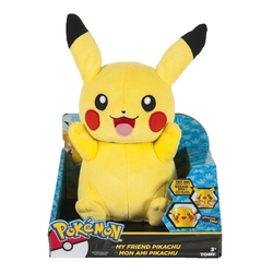POKEMON -  PIKACHU TALKING PLUSH WITH LIGHTS (10INCH)