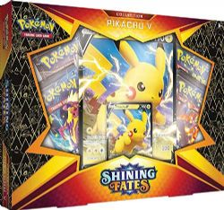 POKEMON -  PIKACHU V BOX (ENGLISH) **LIMIT 1 PER CUSTOMER** -  SHINING FATES