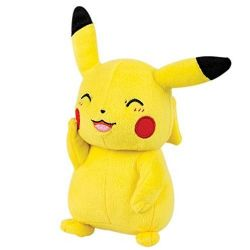 POKEMON -  PIKACHU WITH CLOSED EYES PLUSH (8 INCH)