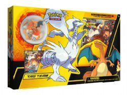 POKEMON -  RESHIRAM & CHARIZARD GX BOX (4P10 + ACCESSORIES)