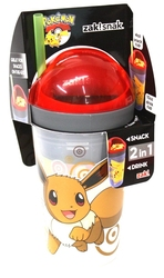 POKEMON -  SNAK TUMBLER OF EEVEE (10OZ) 133