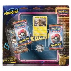 POKEMON -  SPECIAL CASE FILE (3 BOOSTERS + COIN + ACCESSORIES) -  DETECTIVE PIKACHU