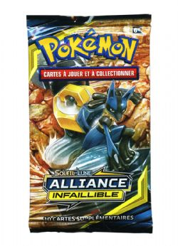 POKEMON SUN AND MOON -  ALLIANCE INFAILLIBLE - BOOSTER PACK (P10/B36) (FRENCH)