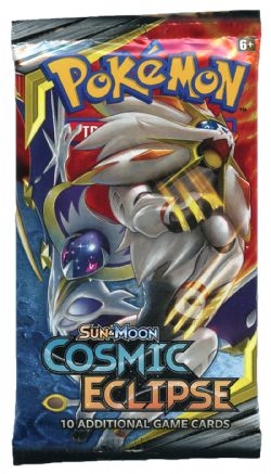 POKEMON SUN AND MOON -  COSMIC ECLIPSE - BOOSTER PACK (P10/B36)