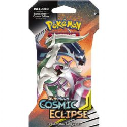 POKEMON SUN AND MOON -  COSMIC ECLIPSE - SLEEVED BOOSTER PACK (ENGLISH)  (P10/B36)