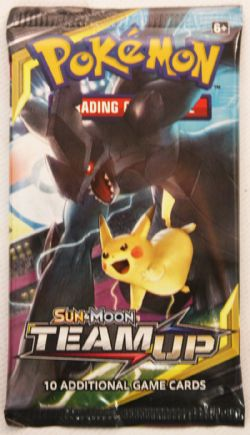 POKEMON SUN AND MOON -  TEAM UP - BOOSTER PACK (P10/B36)
