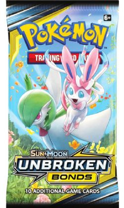 POKEMON SUN AND MOON -  UNBROKEN BONDS - BOOSTER PACK (P10/B36)